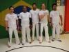 Instruktörerna Vado, Eros, Nuno, David och Edson