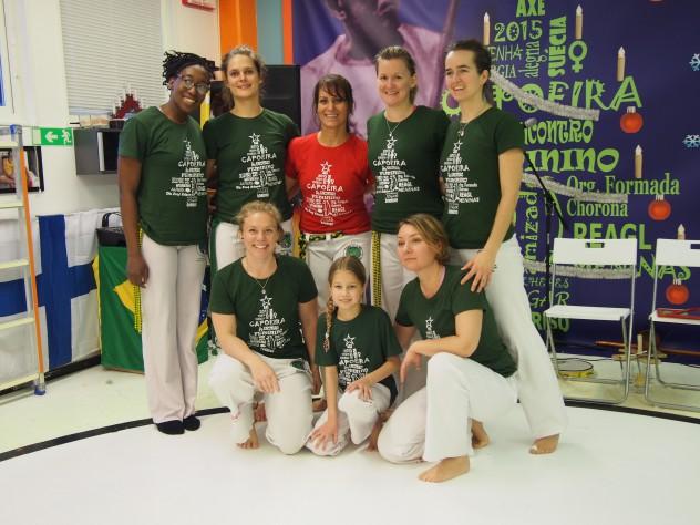 Contra Mesta Luciana em Gotemburgo! (3° Encontro Feminino de Capoeira, REAGL Capoeira Sverige)